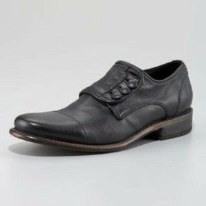 JOHN VARVATOS Bowery Button Oxford Made in Italy